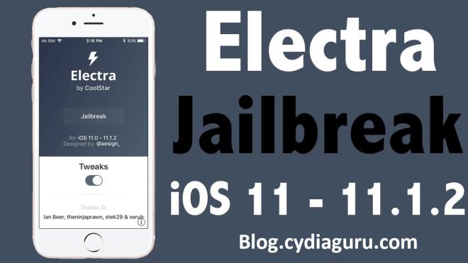 electra ios 11.1.2 jailbreak