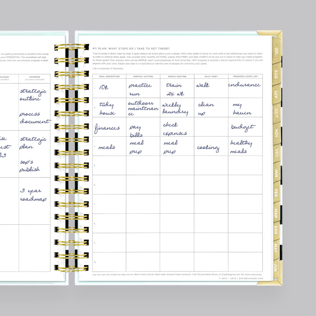 How To Set Up Your Planner