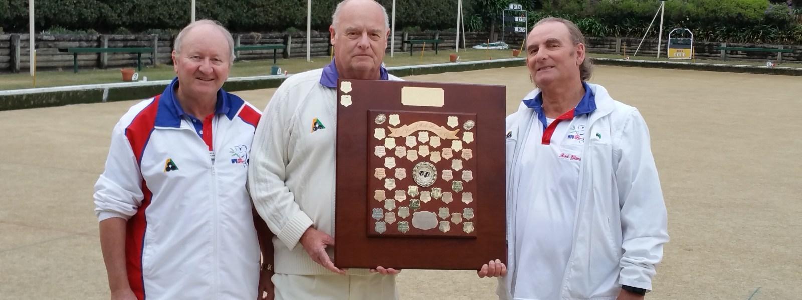 Gamble and Brown win the 2017 Rod Roberts Major Pairs Championship