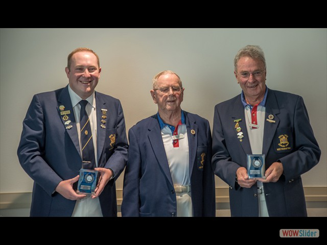 David Wilson, Rod Roberts and Keith Robinson (Major Pairs)