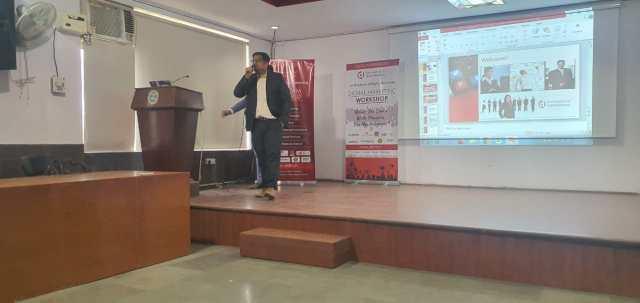 Seminar at IAMR College