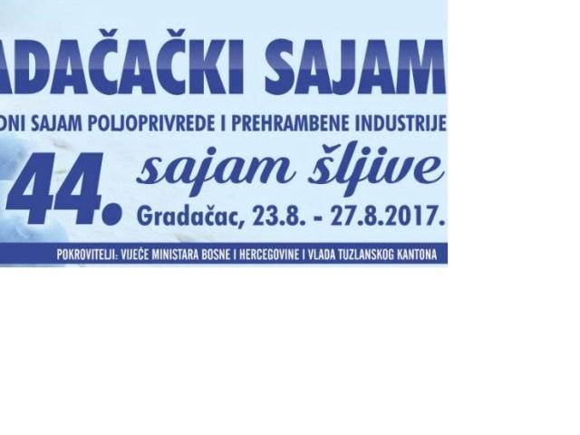 Sajam šljive Gradačac 2017 i EKOBIS Bihać 2017