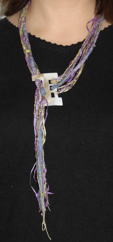 Fibre Art Necklace