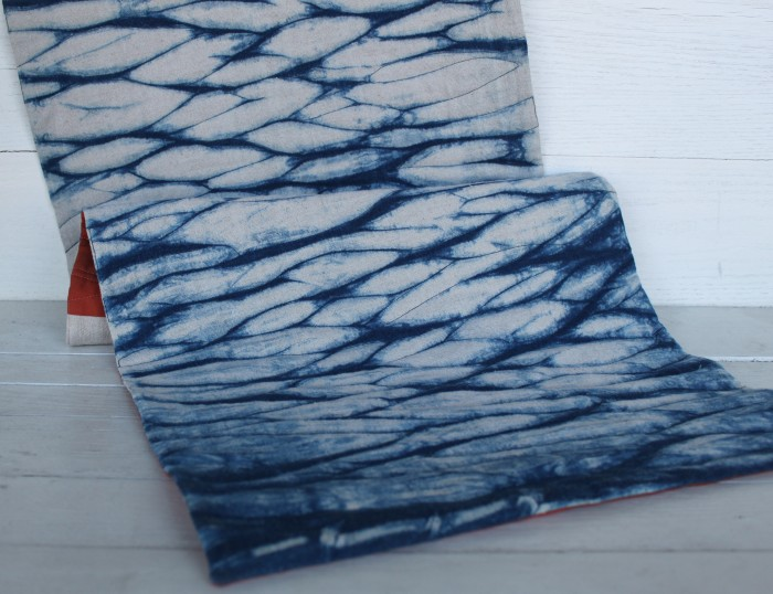 Arashi Shibori Indigo Table Runners Doris Website
