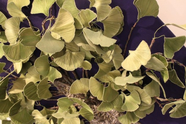 The Gingko Tree (detail) by Cecelia Cameron, Susan Durham, Shirley Kilpatrick and Patricia Menon, Fonthill, ON