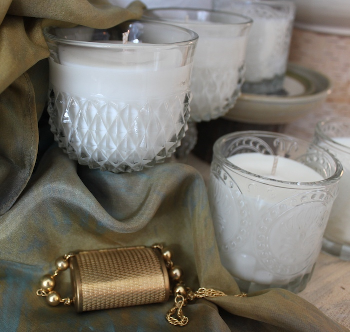 candles by Amy's Place Handmade, jewellery by Peggy Thompson and scarves by Doris Lovadina-Lee