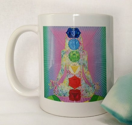 Doris Lovadina-Lee's Radiant Light mug