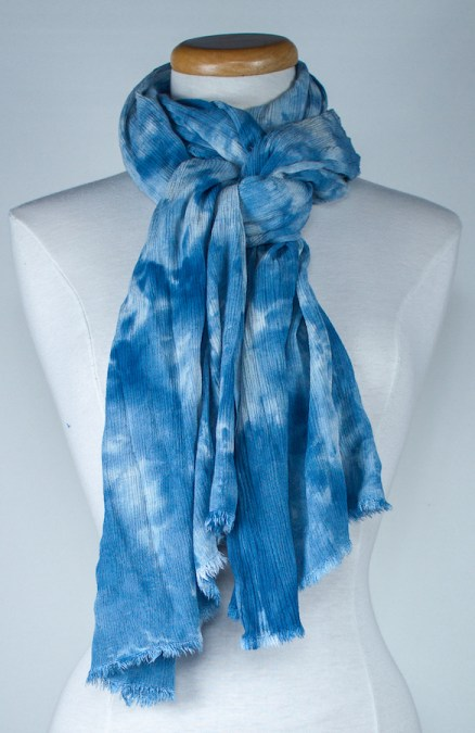 Storm Front travel scarf made in Canada for the world travellor