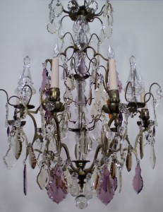 French Cage Chandelier