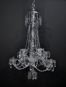Pair Of 19th Century Cut Glass Chandeliers