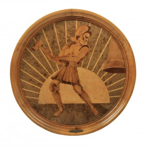 Marquetry Tray