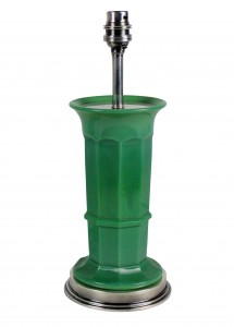 Green Glass Lamps