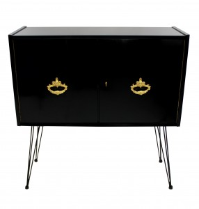 French Black Cabinet