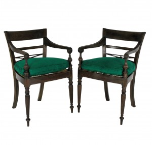 Anglo Ceylonese Armchairs