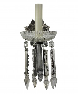 Single Arm Glass Sconces