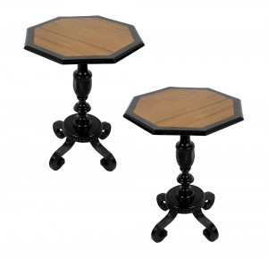 Solid Ebony Tables