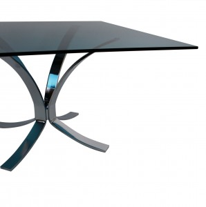 Blue Glass Table