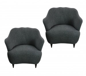 PAIR OF ULRICH ARMCHAIRS