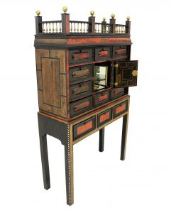 Flemish Chest On Stand
