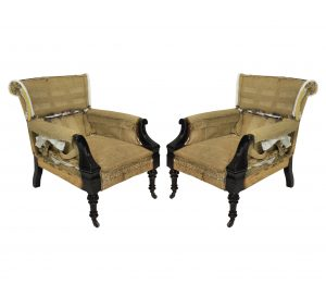 Anglo Indian Armchairs