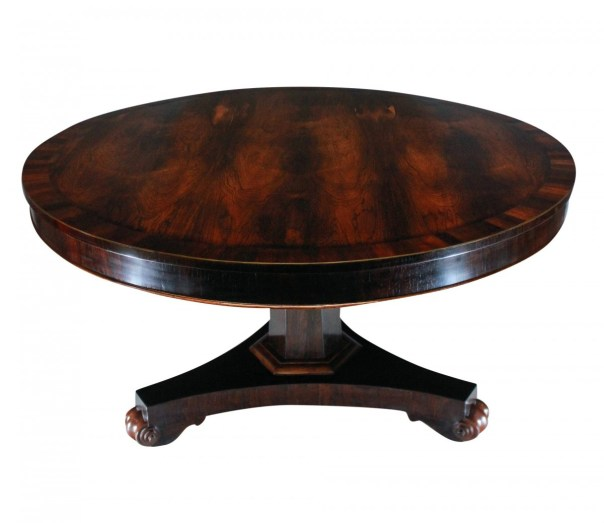 Rosewood Breakfast Table