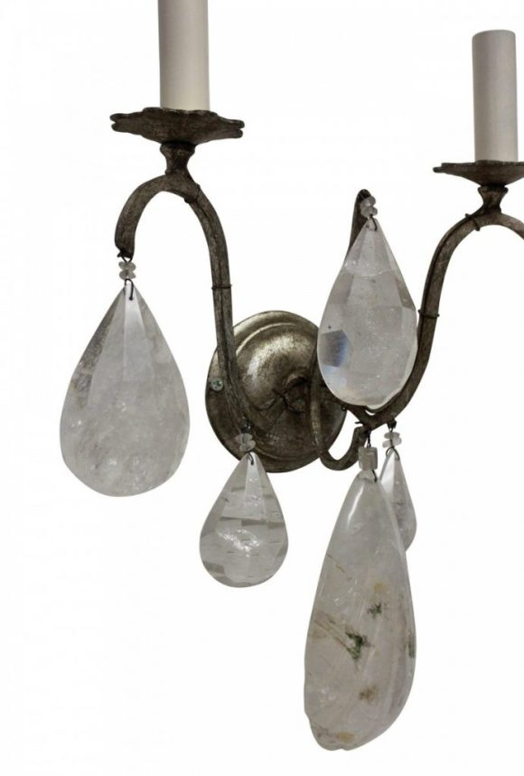 Rock Crystal Sconces
