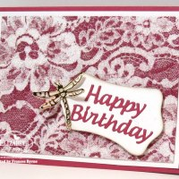 Glitter and Lace Birthday