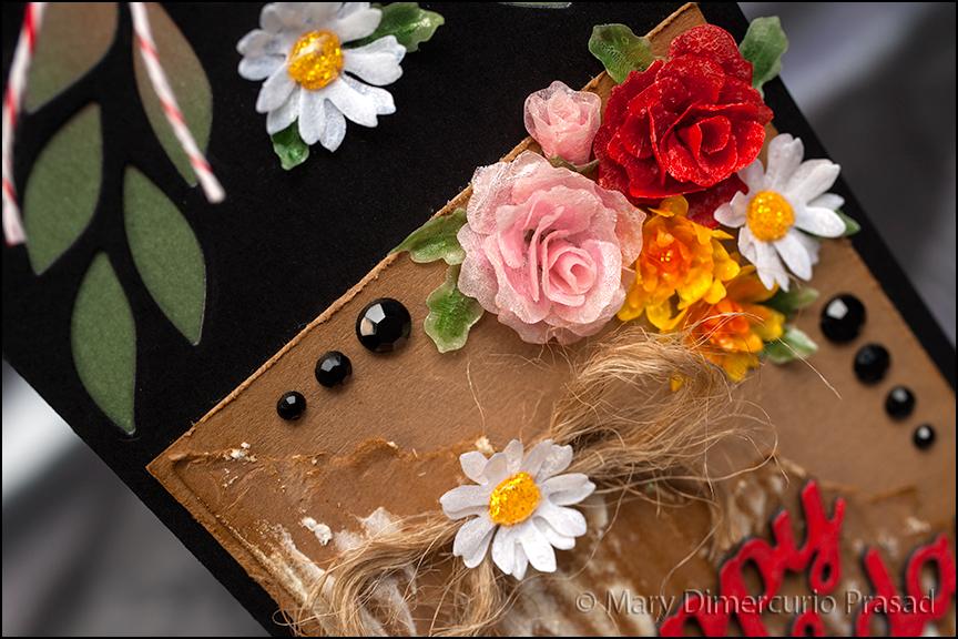 Flower Bday Card CloseUp