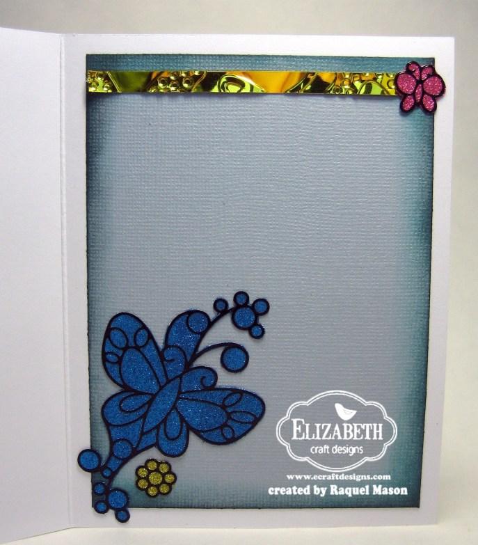 ECD Silk Microfine Glitter Butterflies open