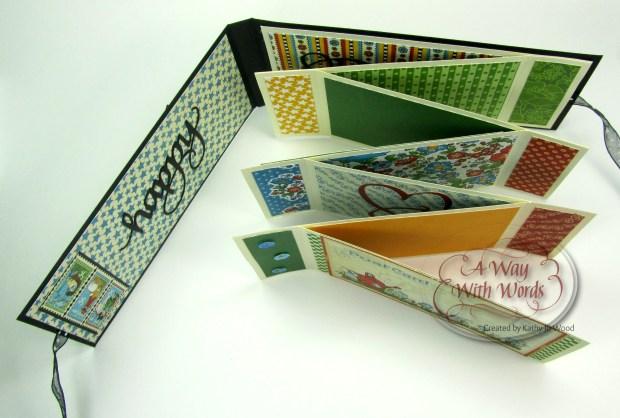Elizabeth Craft Designs Suzanne Cannon Summer Graphic 45 mini album summer Mother Goose Kathy Jo Wood 3