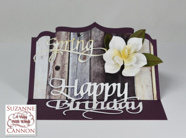 Spring Birthday Card by Suzanne Cannon
