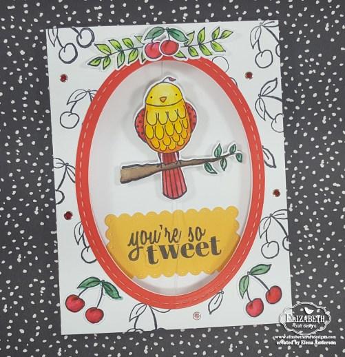 Bird on a Wire Card