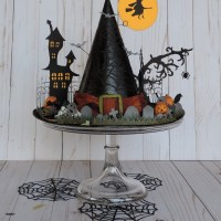 Haunted Witch's Hat - Home Decor