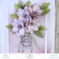 Clematis 'Save the Date' Card