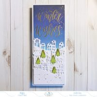 Winter Wishes Slimline Card