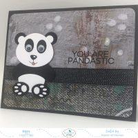 Panda Bear with Googly Eyes