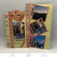 Cabo Scrapbook Layouts