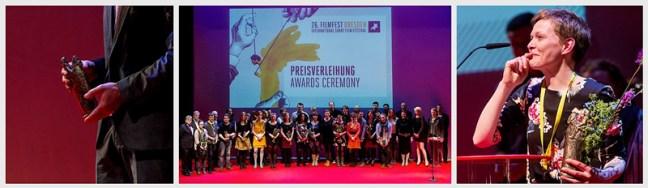 FilmFest Dresden Award Cermony Golden Horsemen Hempel