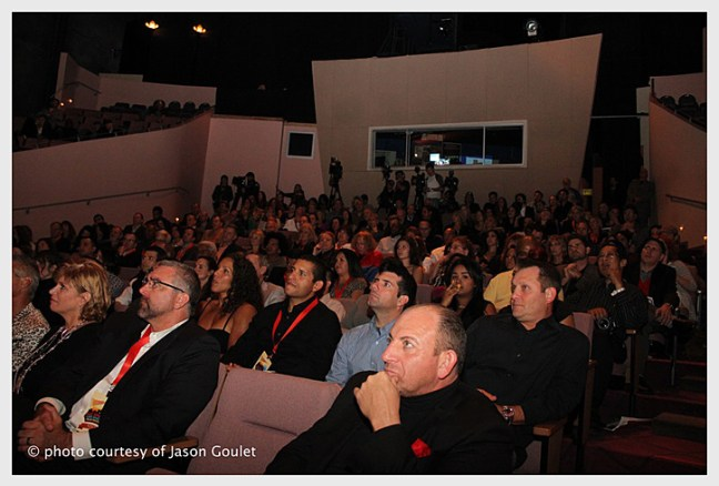Audience at the ALL SPORTS FIlm Fest