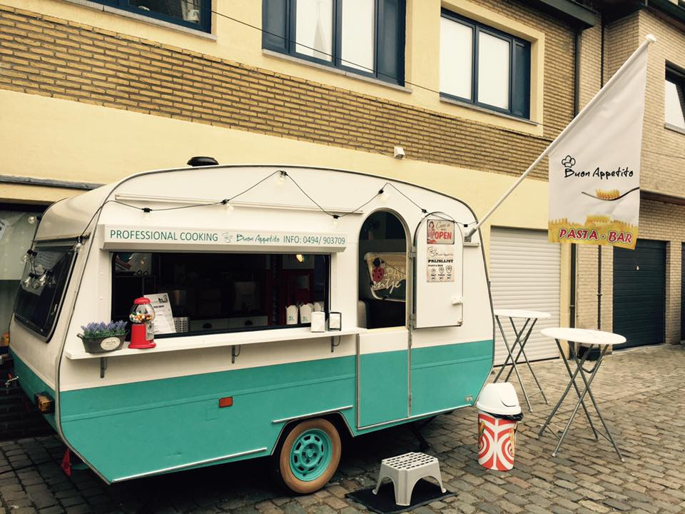 foodtrucks met super originele namen - Buon appetito