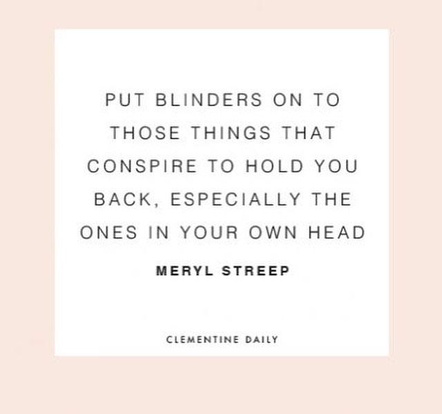 Meryl Streep Quote | Gather Goods Co