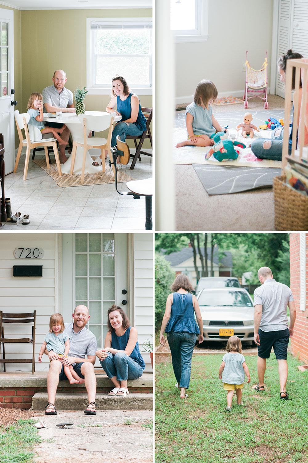 Raleigh Family Photos, Liz & Jacob   Gather Goods Co Studio