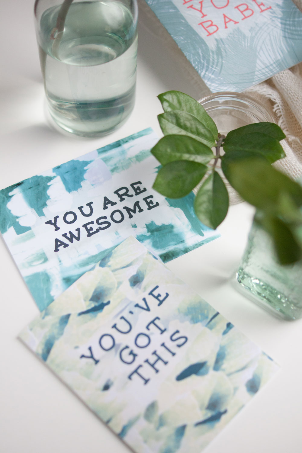 Affirmation Greeting Cards by Gather Goods Co