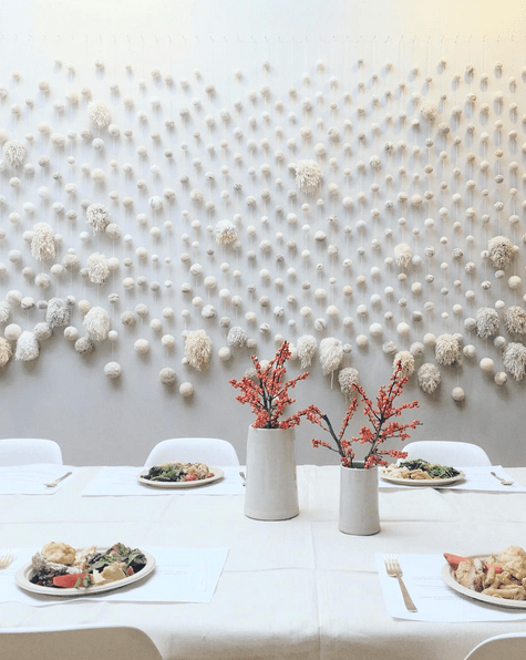 Loeffler Randall Pom Pom Backdrop | Gather Goods Co