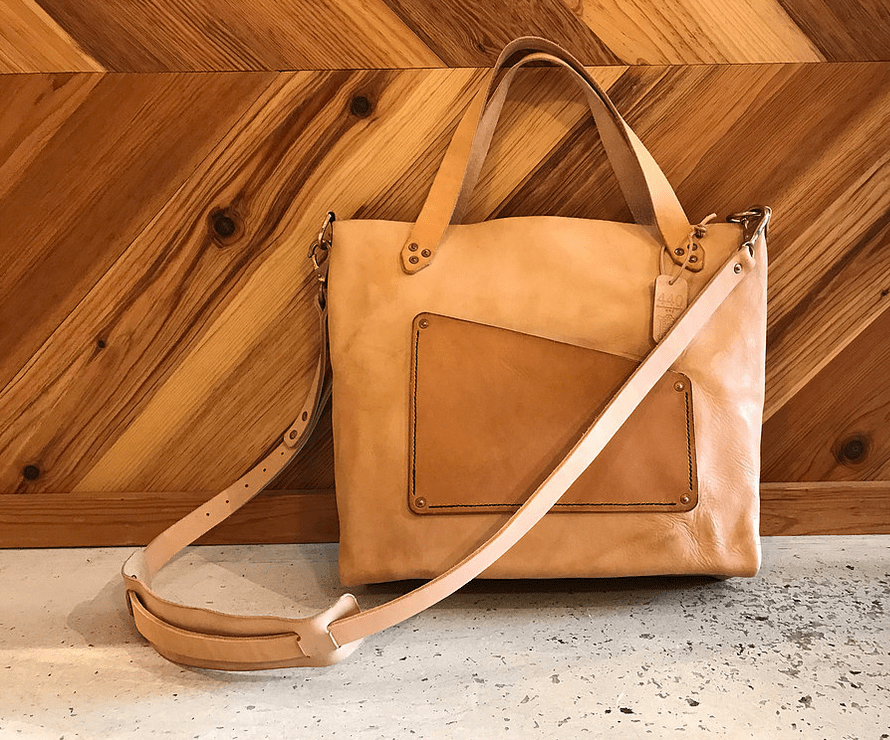 440 Gentleman Supply Leather Bag, Raleigh, NC, Maker - Gather Goods Co