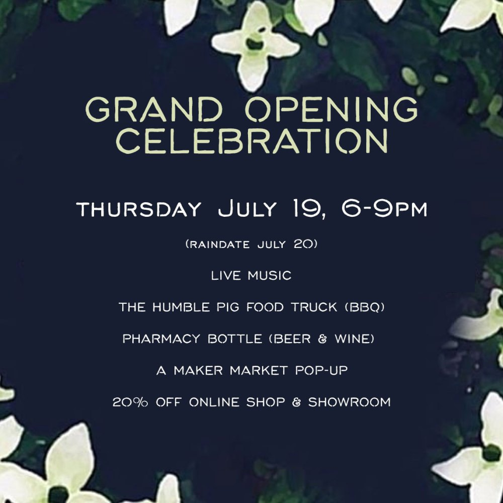 Gather Goods Co Grand Opening