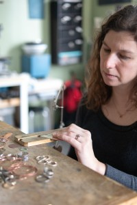 Making Metal Jewelry at Metamorphosis Metals | Gather Goods Co