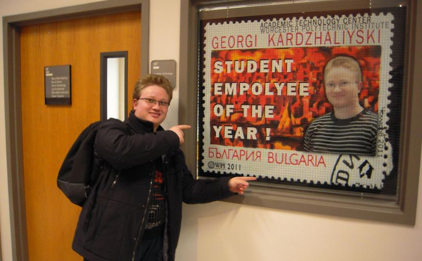 WPI Student Employee of the Year Award