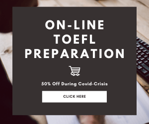 TOEFL Preparation On-Line