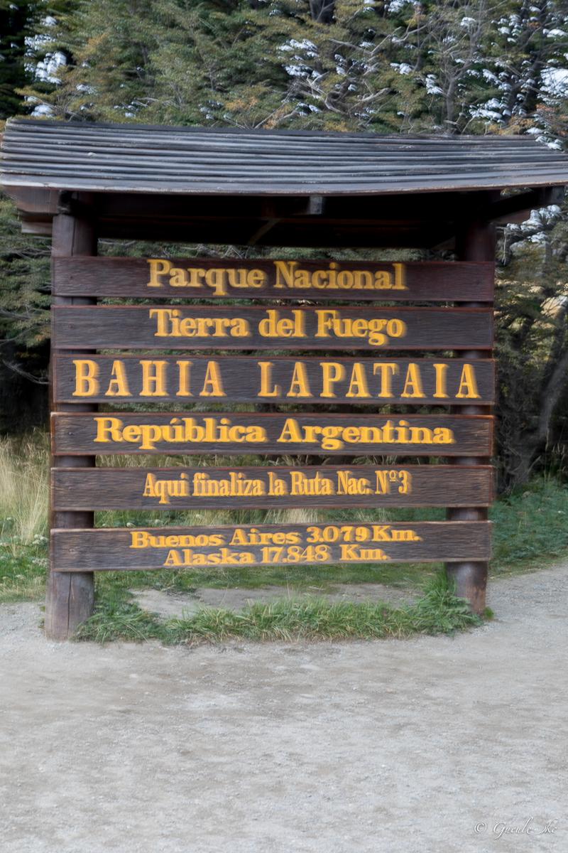 Bahia Lapataia, Terre de Feu, Argentine
